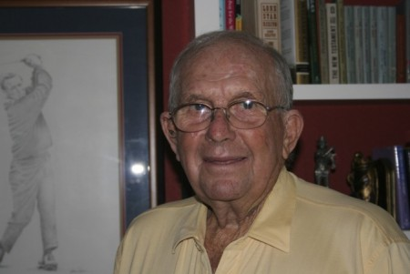 Paul Conner in his study, Sept. 2009.