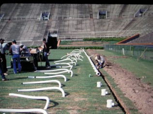 The 17,000 ft. of flexible piping Conner installed is still in use today.