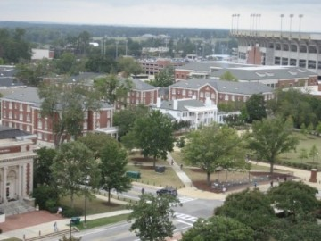 Campus shot from Samford