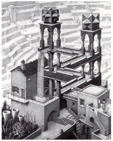 """No word yet on how architect M.C. Escher's special """"2009 Edition"""" remodeling design for Jordan-Hare is proceeding."""