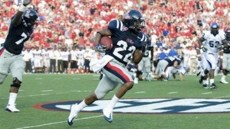 I'm so happy Auburn gets to face this guy right as Ole Miss is figuring out he's their best player.