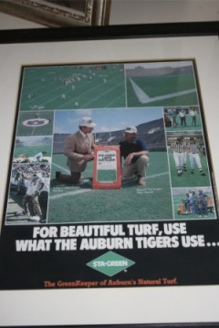 Sta-Green ad from the late 80s featuring Dye and Conner.