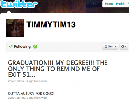 Well ... it's always nice to see athletes excited about getting their degrees, right?