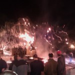 Tweeter of Toomer's Corner curious fire photo shares story