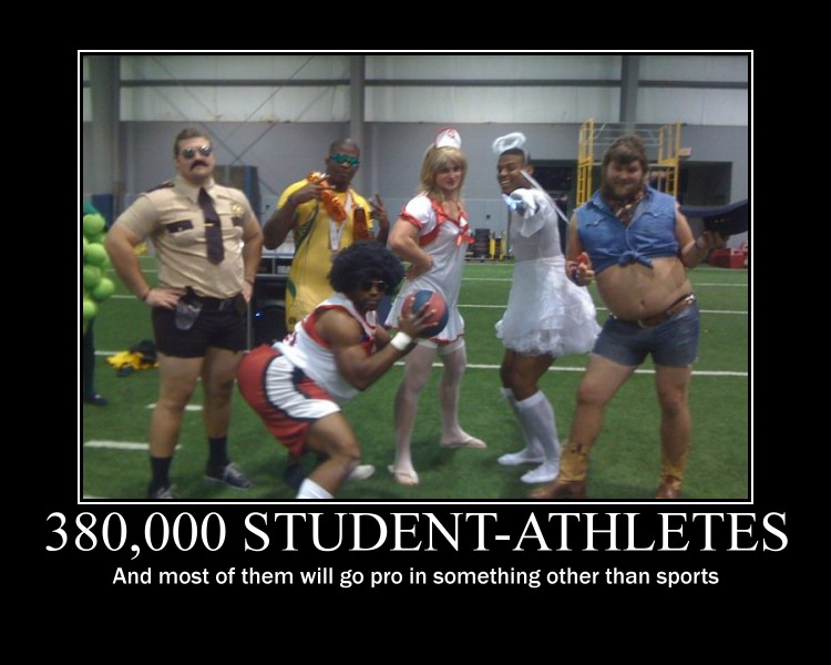 the bonus of being a student athlete in college The day-to-day life of a college athlete can get grueling a bonus fact: ncaa student-athletes have higher graduation rates than college students in general and don't forget the facilities all over campus that are part of being a student-athlete.