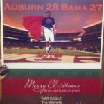 Cam Newton Christmas Card (sent to The Malzahns)