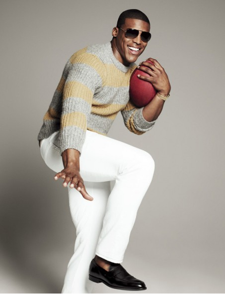 Cam Newton Photo Spread in July Issue of GQ