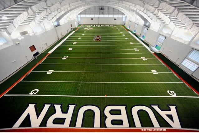 auburn football  facilities