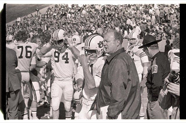 Rare Photos From The 1973 Sun Bowl Auburns First Game