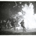 Amazing rare photos from the 1972 Burn The Bulldogs pep rally