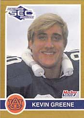 Kevin Greene Auburn card