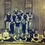 The 1903 Auburn gymnastics team