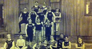 The 1903 Auburn gymnastics team