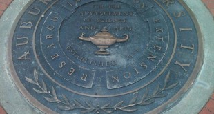 Step on a crack, break your mother's back. Step on the Auburn Seal in front of Langdon Hall, and an Auburn students could ruin their life--or at least that's the relatively new urban Auburn legend.