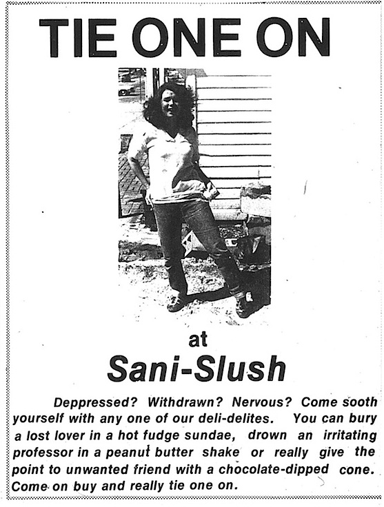 sani-flush ad april fools 4 1 79