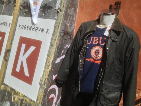 Auburn sweatshirt in copenhagen