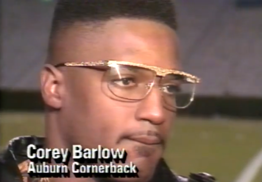 (it's 1991 and you're name's Corey—we'd be disappointed if you weren't wearing gold glasses. Extra bonus wit