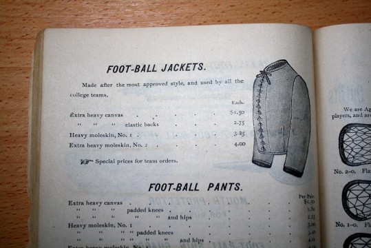 Football Uniforms 1892