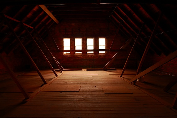 Samford Hall Attic Picture