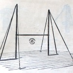 Vaulting and Parallel Bar Set