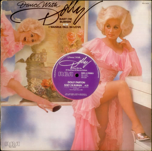 "Dolly+Parton+-+Baby+I'm+Burning+-+Pink+Vinyl+-+12""+RECORD-MAXI+SINGLE-538742"