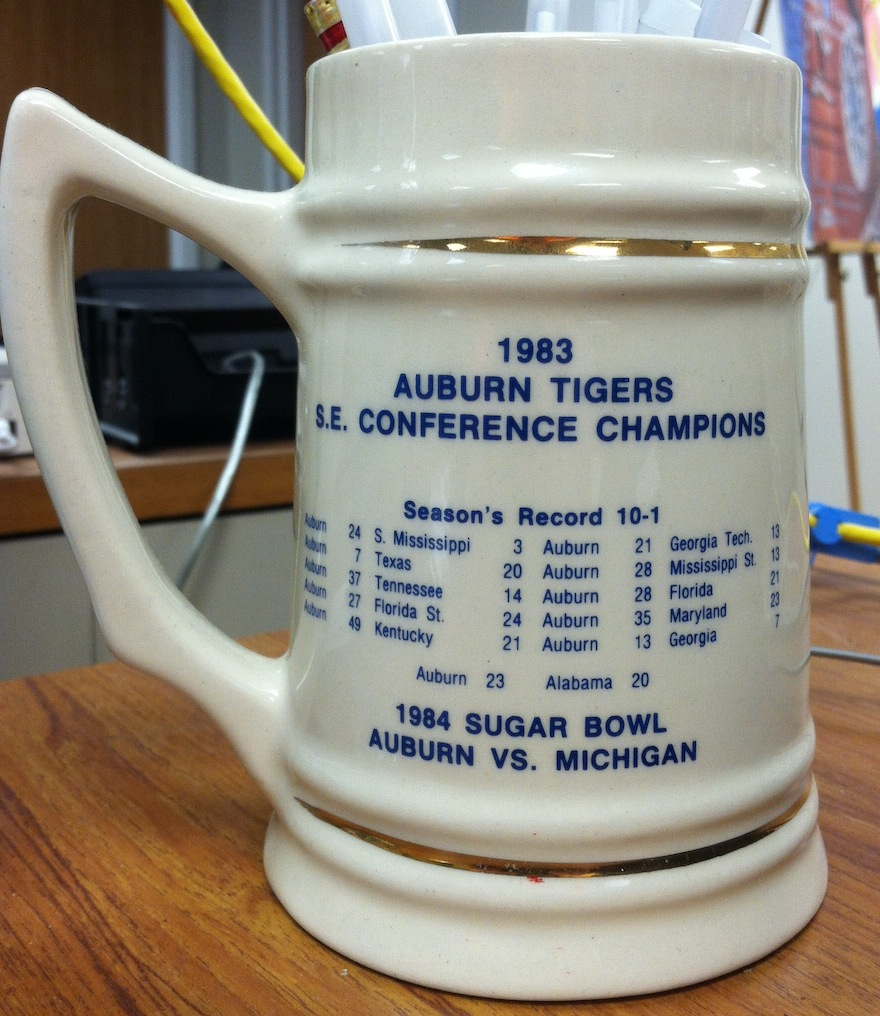 SEC Champs Beer Stein back