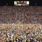 Auburn wins, Words fail: Auburn philosophy professor Kelly Jolley relives the _______ of the Iron Bowl