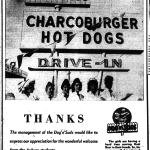 Thanks, Auburn students! — Dog 'n Suds (P.S. Please return our root beer mugs)