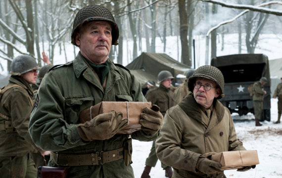 From Auburn Man to Monuments Man: AU grad Robert K. Posey inspired Bill Murray's character in new WW2 film.