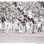 Rare photos of David Langner taken during the game that made him an Auburn legend