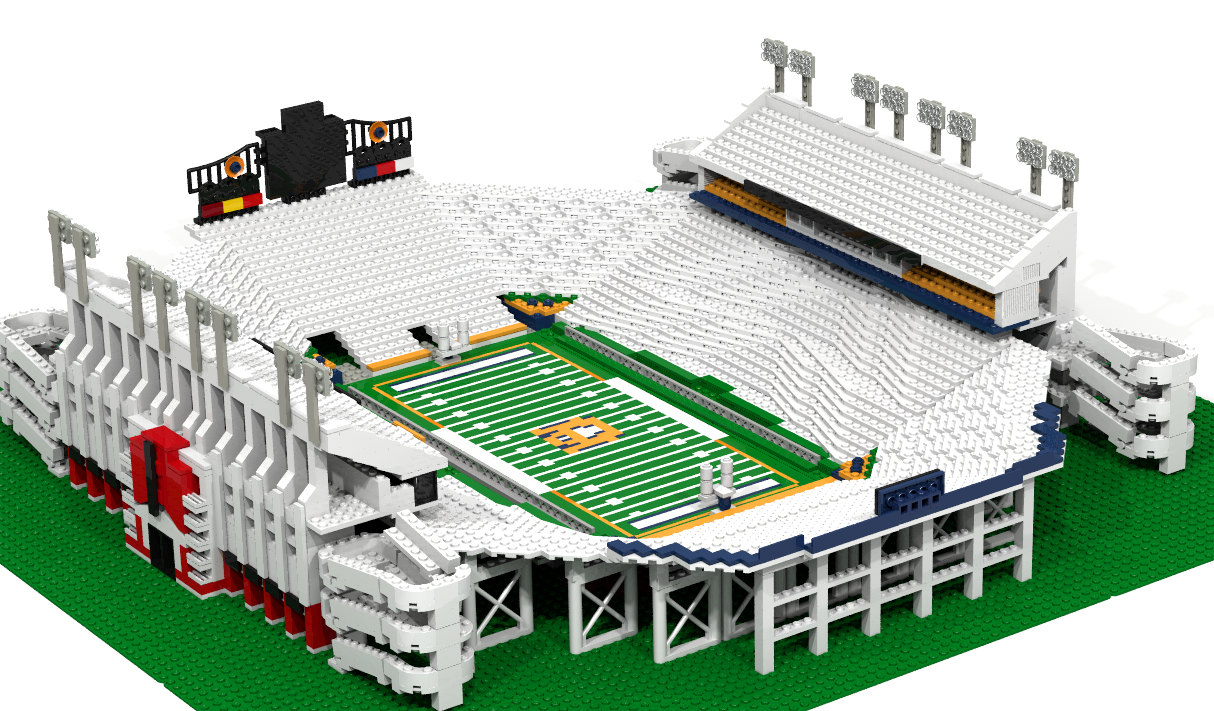 Sale On Legos One Of A Kind Jordan Hare Stadium Lego Kit Up For Sale