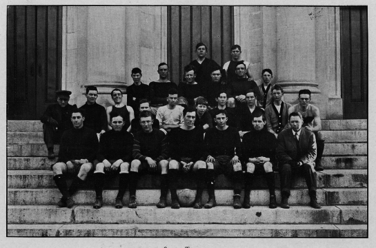 First group photo of the Auburn chapter of Soccer Lovers Anonymous, 1912.