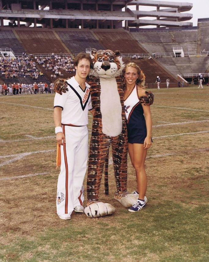 Another shot of Mask during Aubie's debut season.