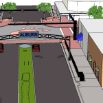Auburn's assistant city manager says expecting an arch at Toomer's Corner in 2015 is 'premature'