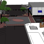 Permanent tiger paw in intersection <s>among possibilities for City of Auburn's Toomer's Corner renovation</s> definitely happening