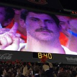 The Making of the Mustache Guy: Auburn senior gets 15 giant minutes of fame with stone-faced video board cameo