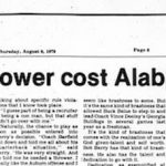 Bear Bryant lost a recruit to Auburn in the shower