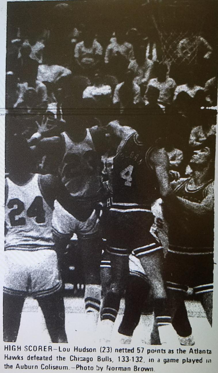 That time the Atlanta Hawks Chicago Bulls Harlem Globetrotters