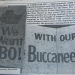 The giant card Tampa Bay fans sent to Bo Jackson before the 1986 NFL Draft