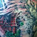 Auburn grad pays tribute to Toomer's Oaks with giant back tattoo