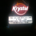 The Krystal Marquee says don't roll the Toomer's Oaks hungry!