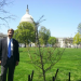 Congressman Mike Rogers visits Capitol Hill Toomer's Oak for Arbor Day