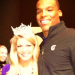 (We somehow missed) Miss America Mallory Hagan and Cam Newton posing for a photo