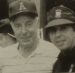 Joe DiMaggio in an Auburn hat (with Jim Fyffe)