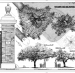 Awesome laser scan drawing of Auburn's Toomer's Oaks to be housed in Library Of Congress