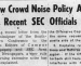 1964 SEC rule change sought to keep football fair by forbidding fans from cheering too loudly for their team