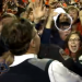 [UPDATED] Did a kid steal Gus Malzahn's visor off his head as students rushed the field after the Iron Bowl?
