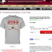 Official Florida State BCS Championship Victory T-shirt has Auburn winning the game, 34-31