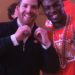 Auburn fan flashes 'one second' sign for photo with Chris Davis