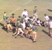 1947 film of Auburn in orange, green jerseys